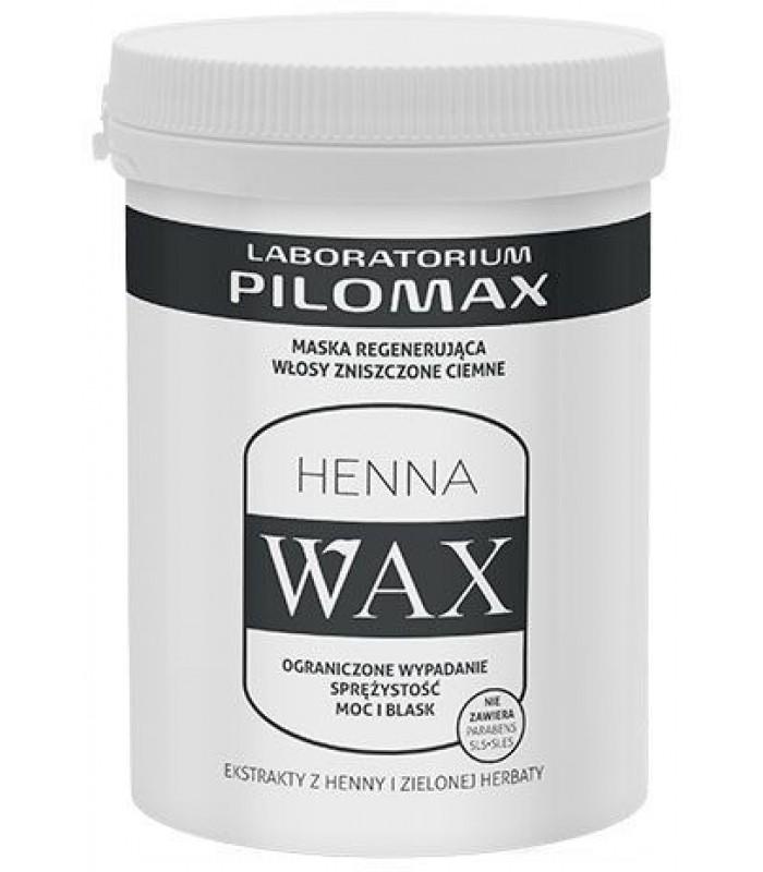 WAX MASKA do włosów suchych i zniszczonych ciemnych 480g Pilomax Nowa Niska cena