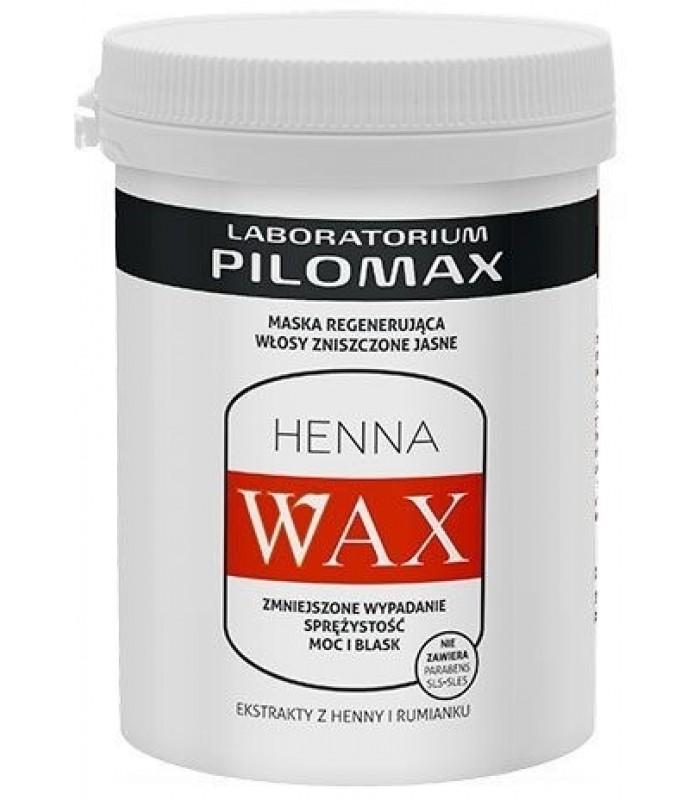 WAX MASKA do włosów suchych i zniszczonych jasnych 480g Pilomax Nowa niska cena !